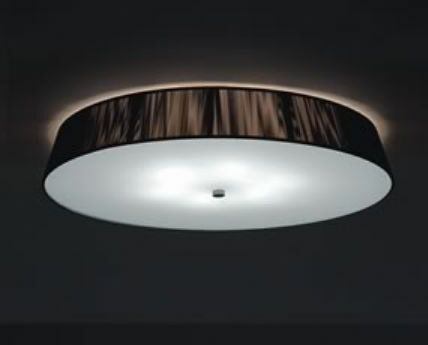 Lilith 6-Light Flush Mount Fixture Finish: Mocha, Bulb Type: 40W E26