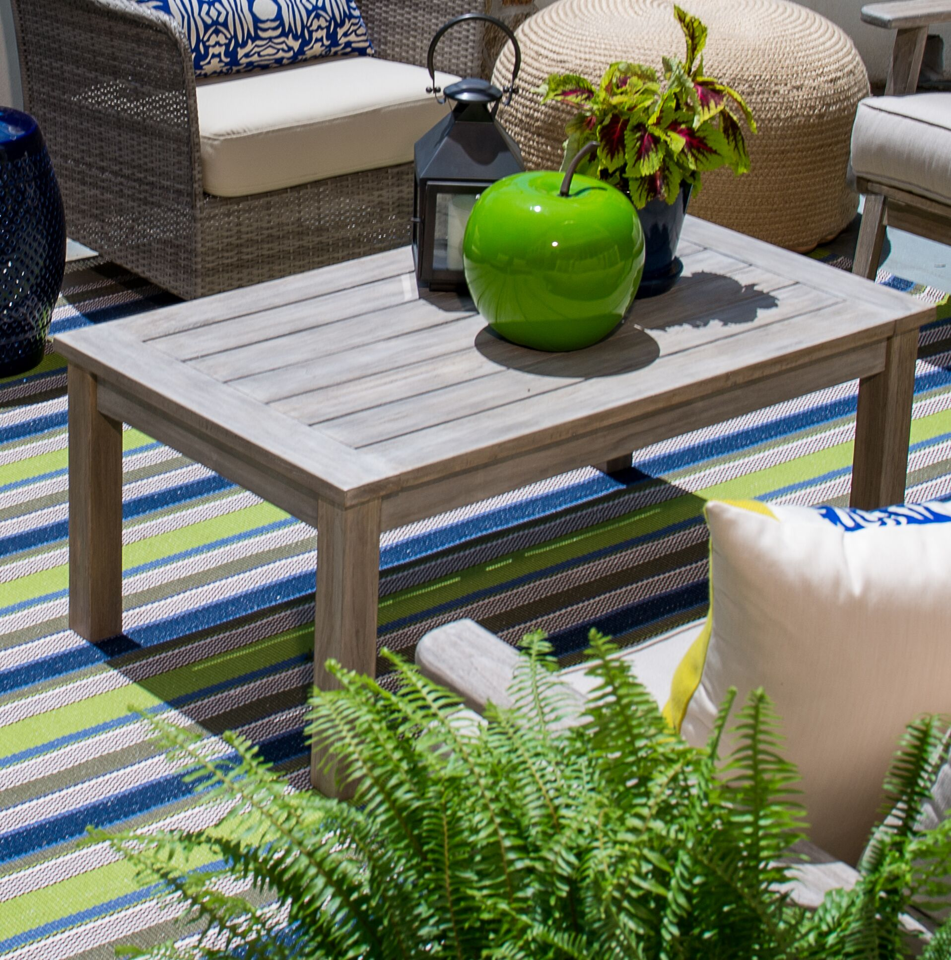 Earnest Wooden Coffee Table