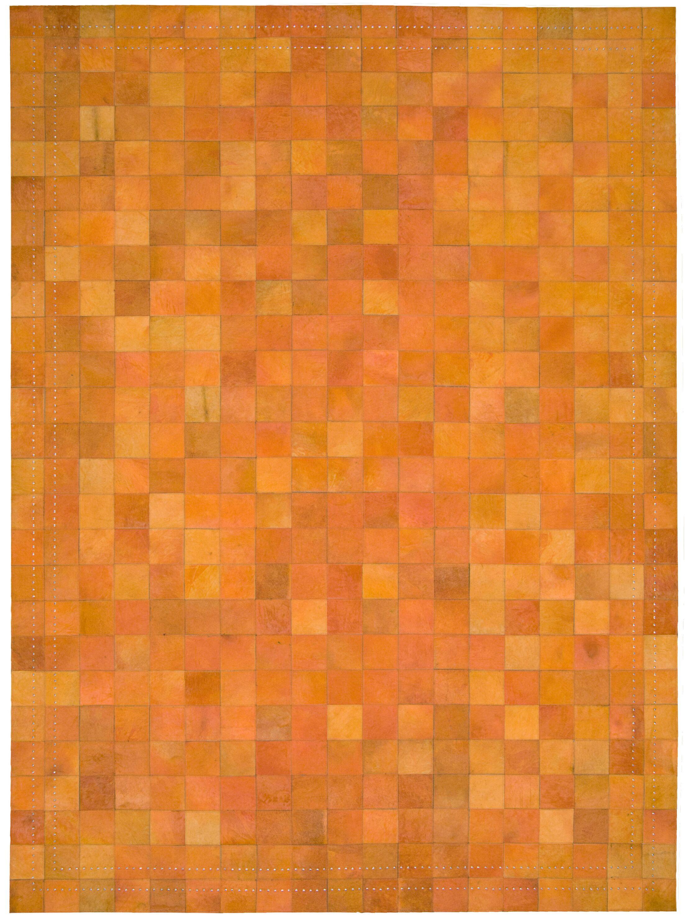 Medley Tangerine Area Rug Rug Size: Rectangle 8' x 11'