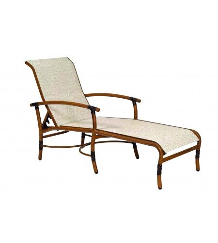 Glade Isle Sling Reclining Chaise Lounge Color: Augustine Alloy