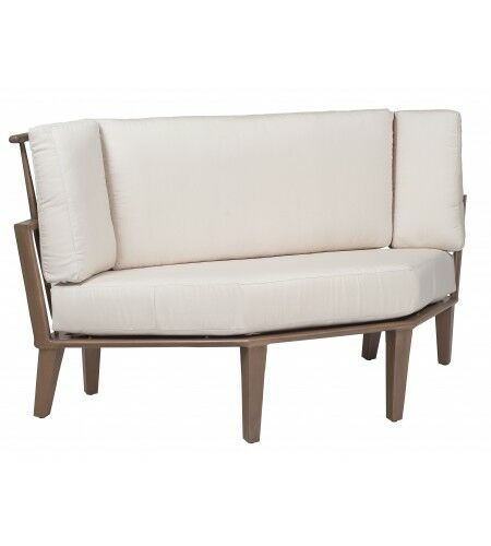 Van Dyke Wedge Corner Sectional Piece with Cushions Fabric: Canvas Heather Beige