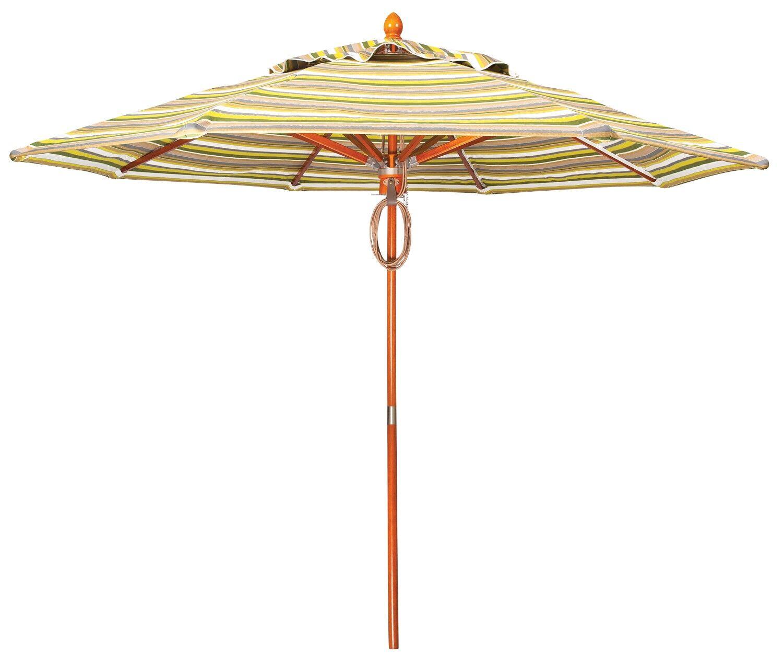 9' Market Umbrella Fabric Color: Summit Peony