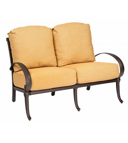 Holland Loveseat with Cushions Fabric: Canvas Chestnut