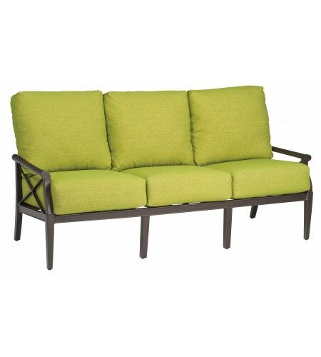 Andover Sofa with Cushions Fabric: Canvas Parrot