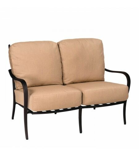 Apollo Loveseat with Cushions Fabric: Paris Honeydew