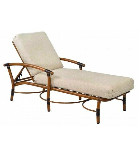 Glade Isle Reclining Chaise Lounge with Cushion Color: Axel Smoke