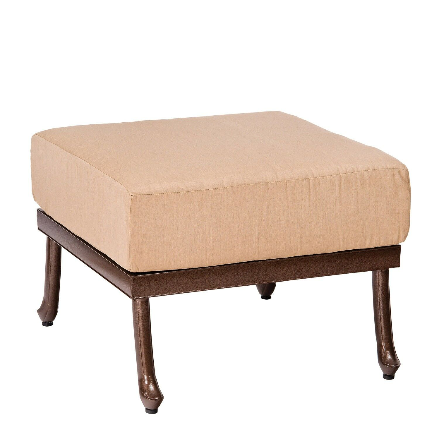 Casa Ottoman with Cushion Fabric: Fairmount