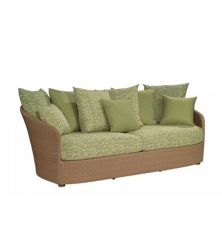 Oasis Sofa with Cushions Fabric: Canvas Bird's Eye