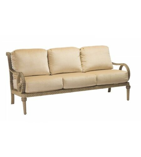 South Shore Sofa with Cushions Fabric: Brisa Distressed Chamois