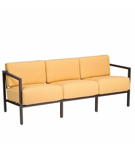 Salona Sofa with Cushions Fabric: Bazaar Cafe