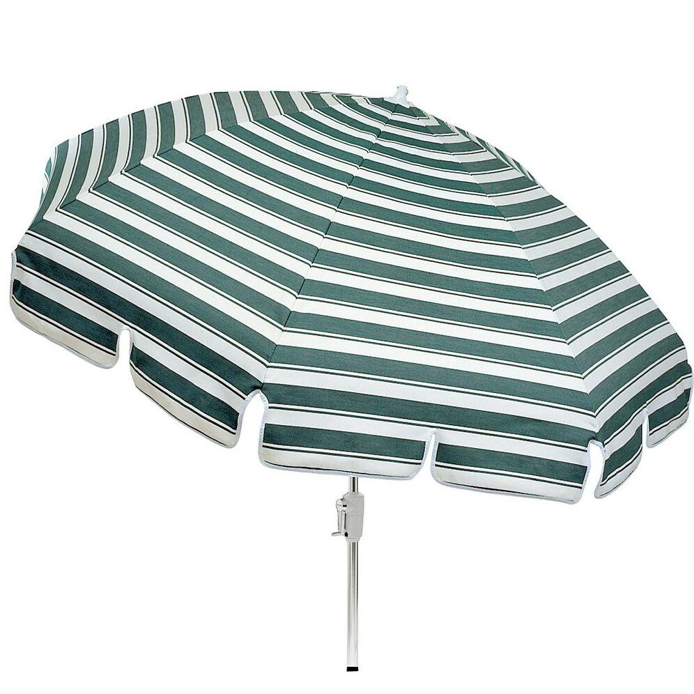 Standard Conventional Top 8' Beach Umbrella Fabric Color: Brisa Distressed Chamois, Size: 144