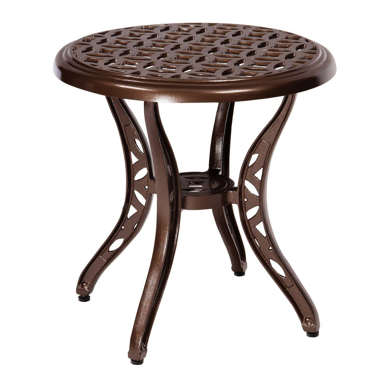 Casa Side Table Frame Color: Textured Black