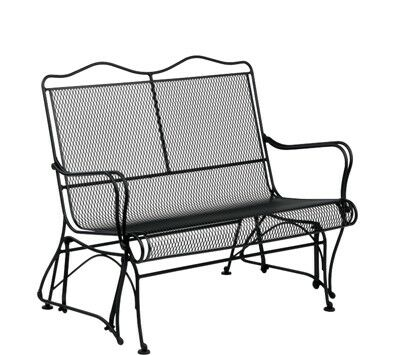 Tucson High Back Gliding Loveseat Frame Color: Weathered White