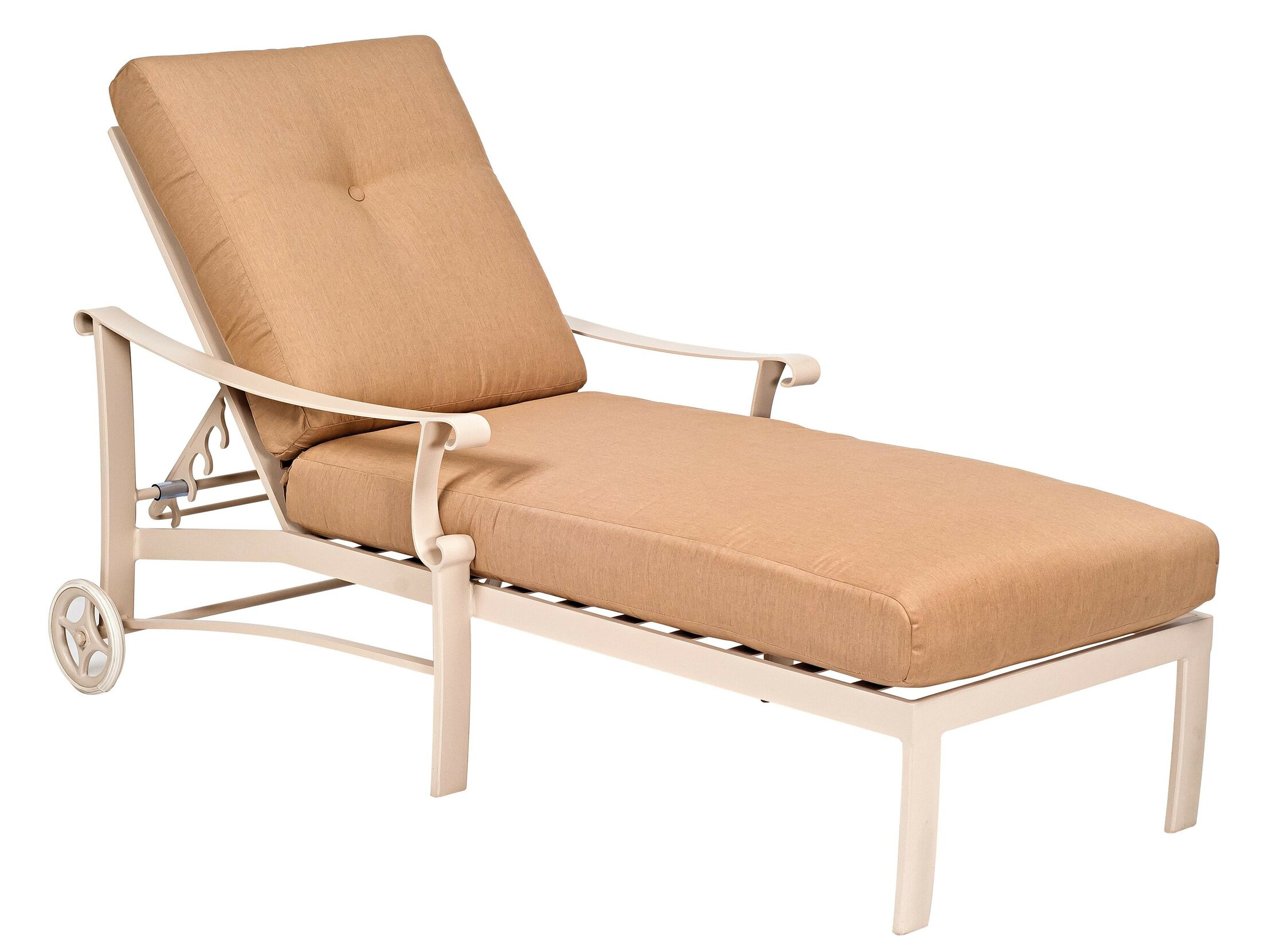 Bungalow Adjustable Chaise Lounge with Cushion