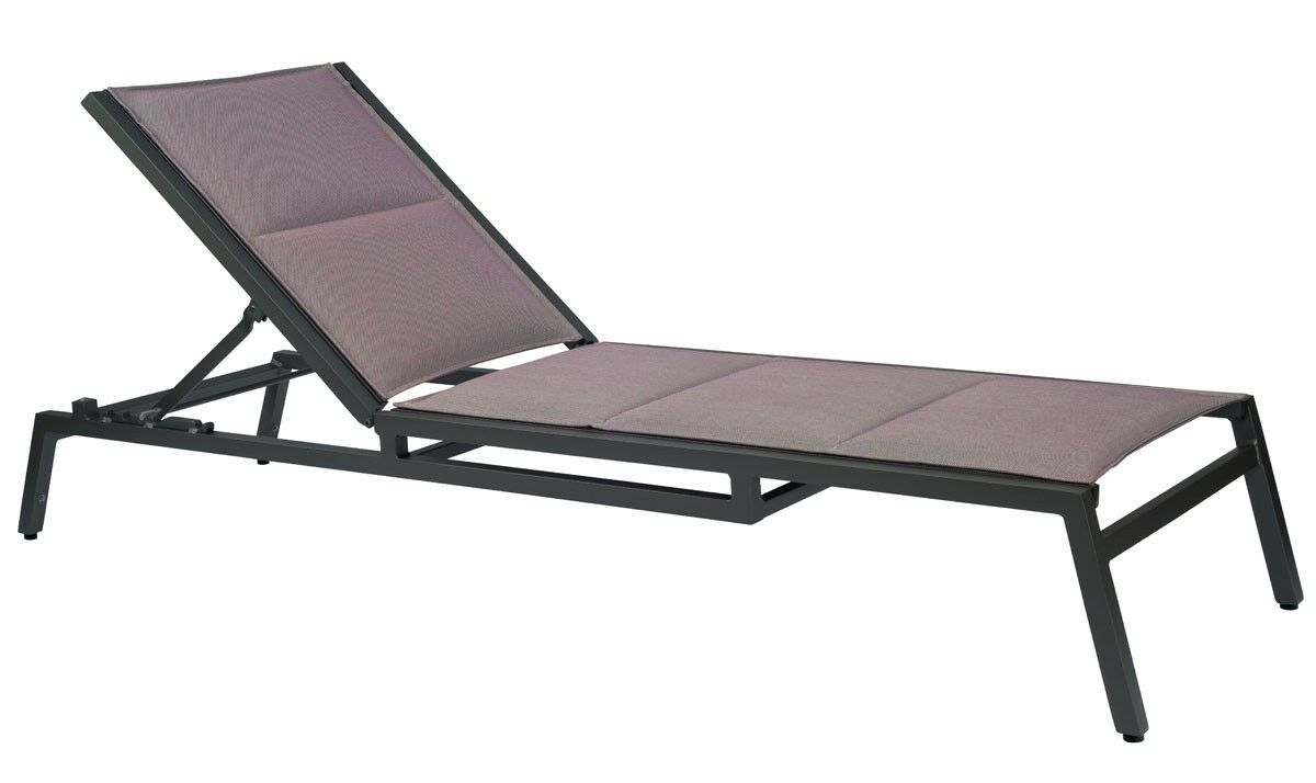 Palm Coast Sling Reclining Chaise Lounge