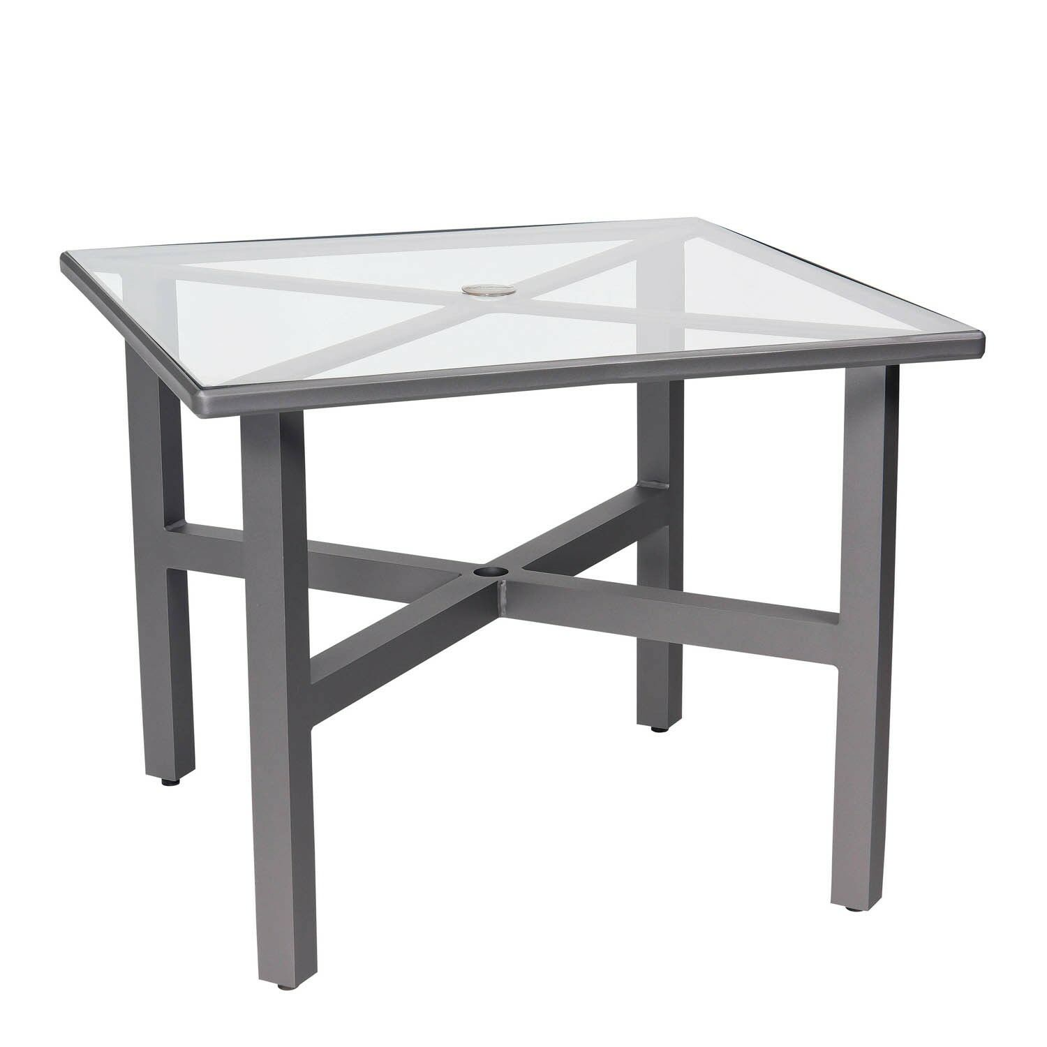 Palm Coast Wooden Dining Table Frame Color: Weathered White