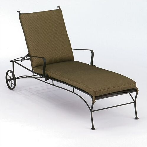 Bradford Reclining Chaise Lounge Finish: Hammered Pewter
