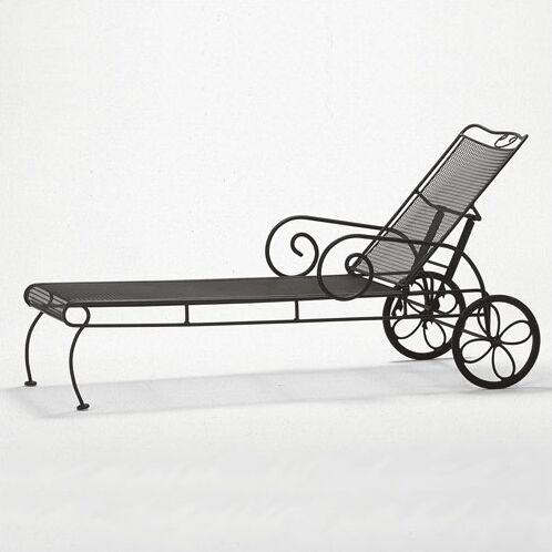 Cantebury Reclining Chaise Lounge Finish: Mojave