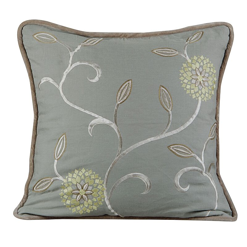Bedazzle Throw Pillow Color: Mist