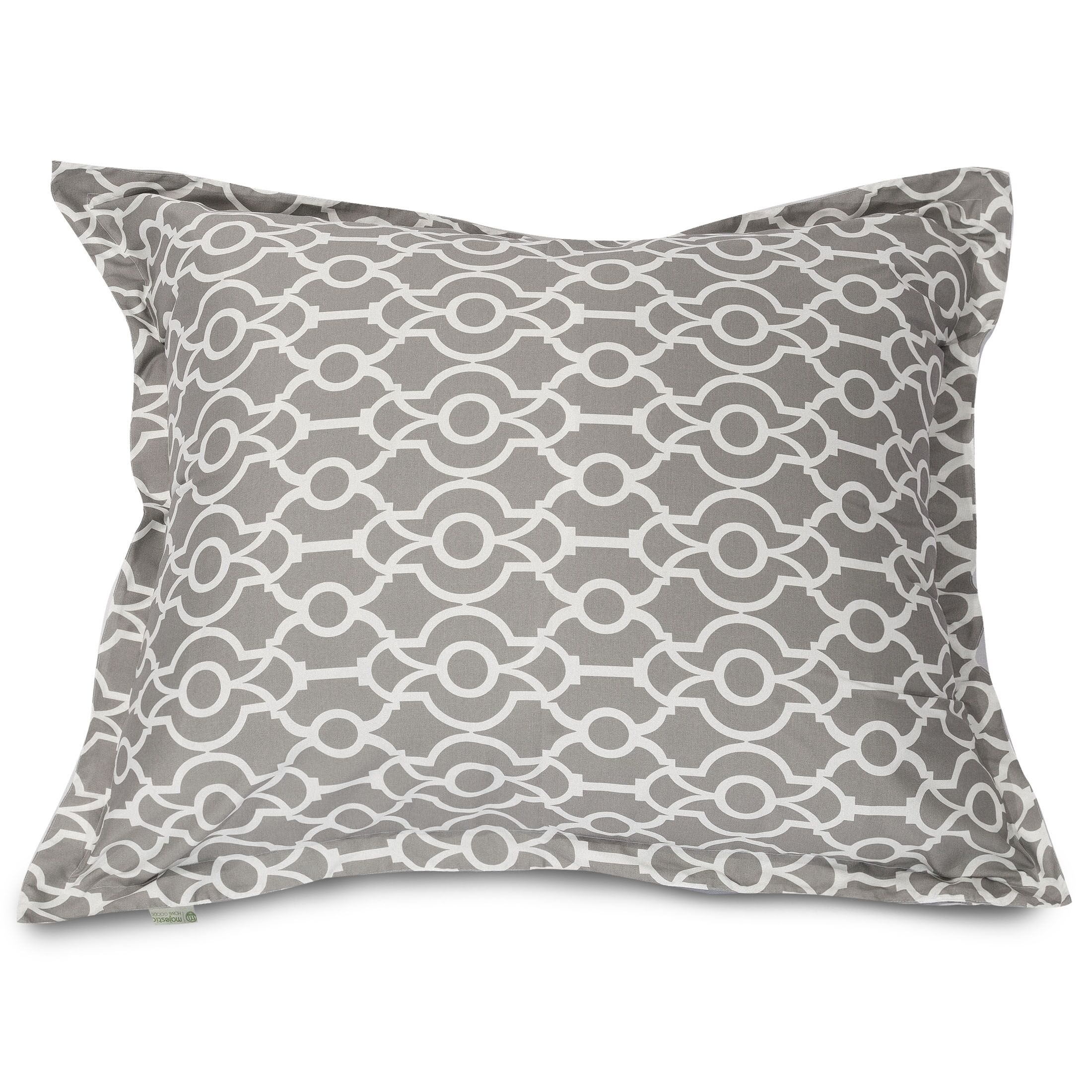 Athens Floor Pillow Color: Gray