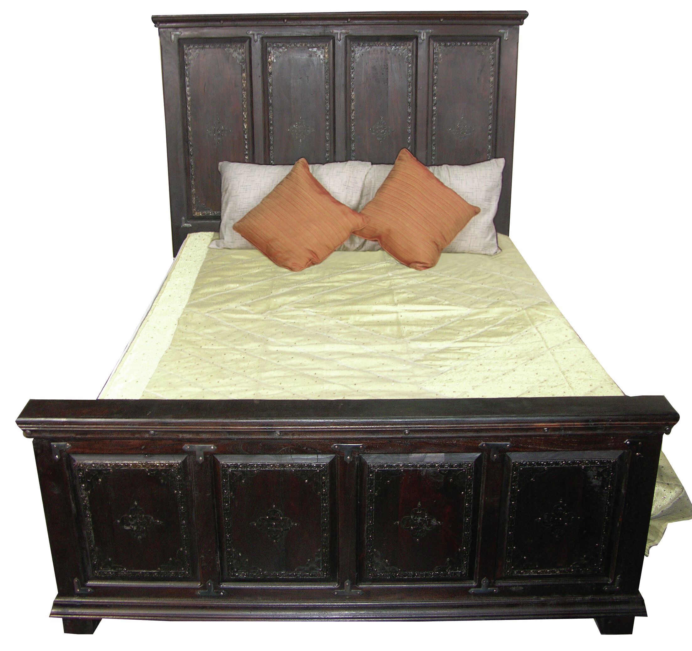 Pepe Panel Bed Size: King