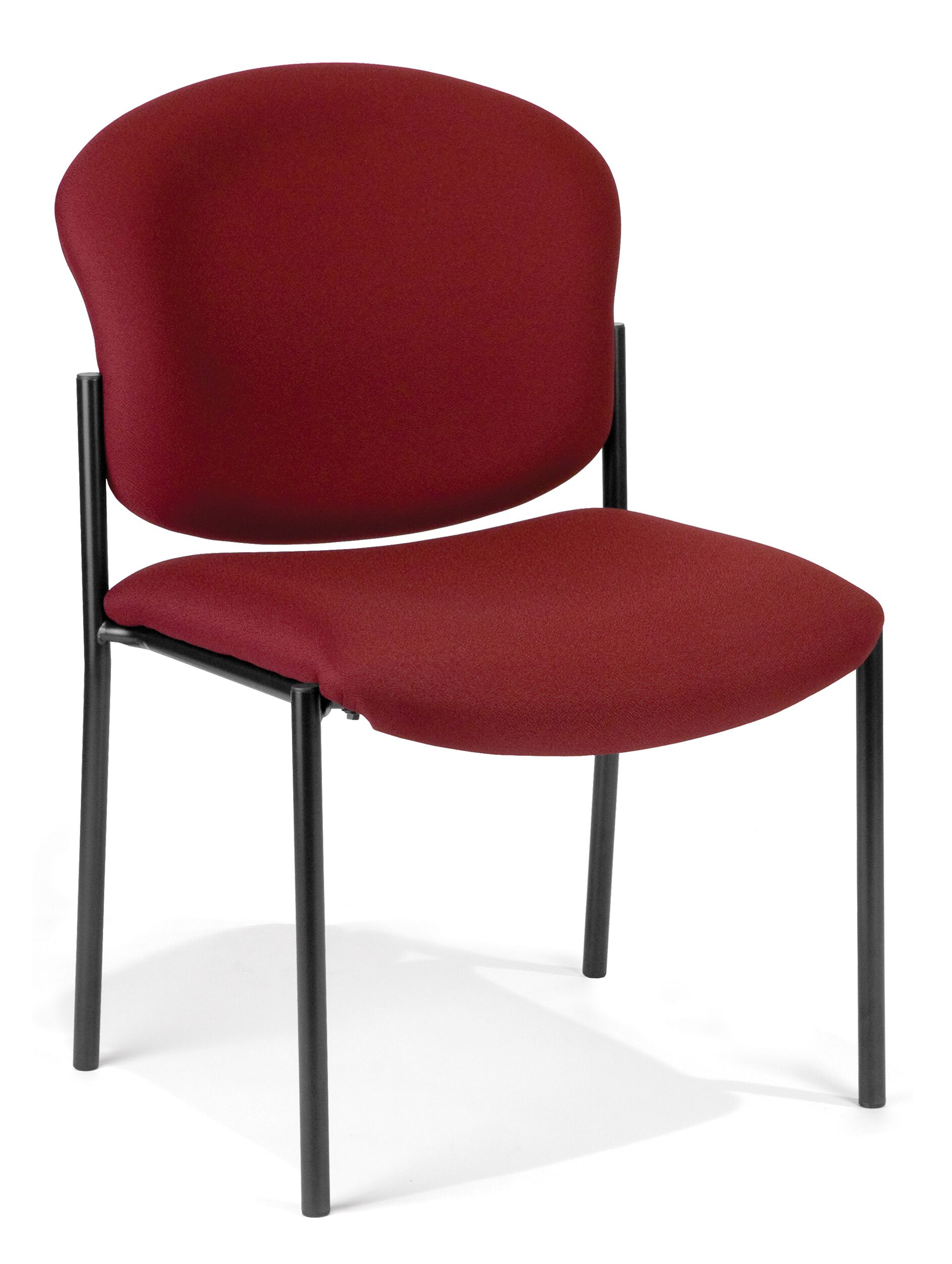 Oleanna Guest Chair Seat Finish: Wine Vinyl