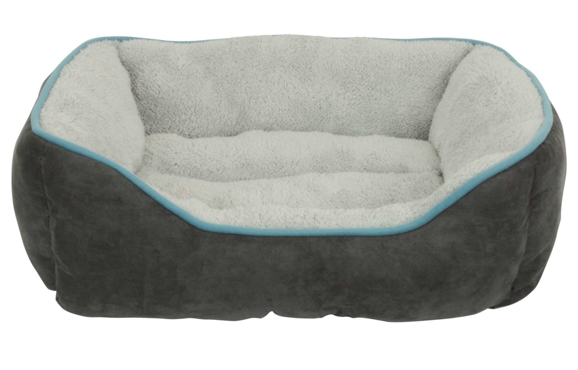 Capricorn Faux Suede Bolster Color: Gray