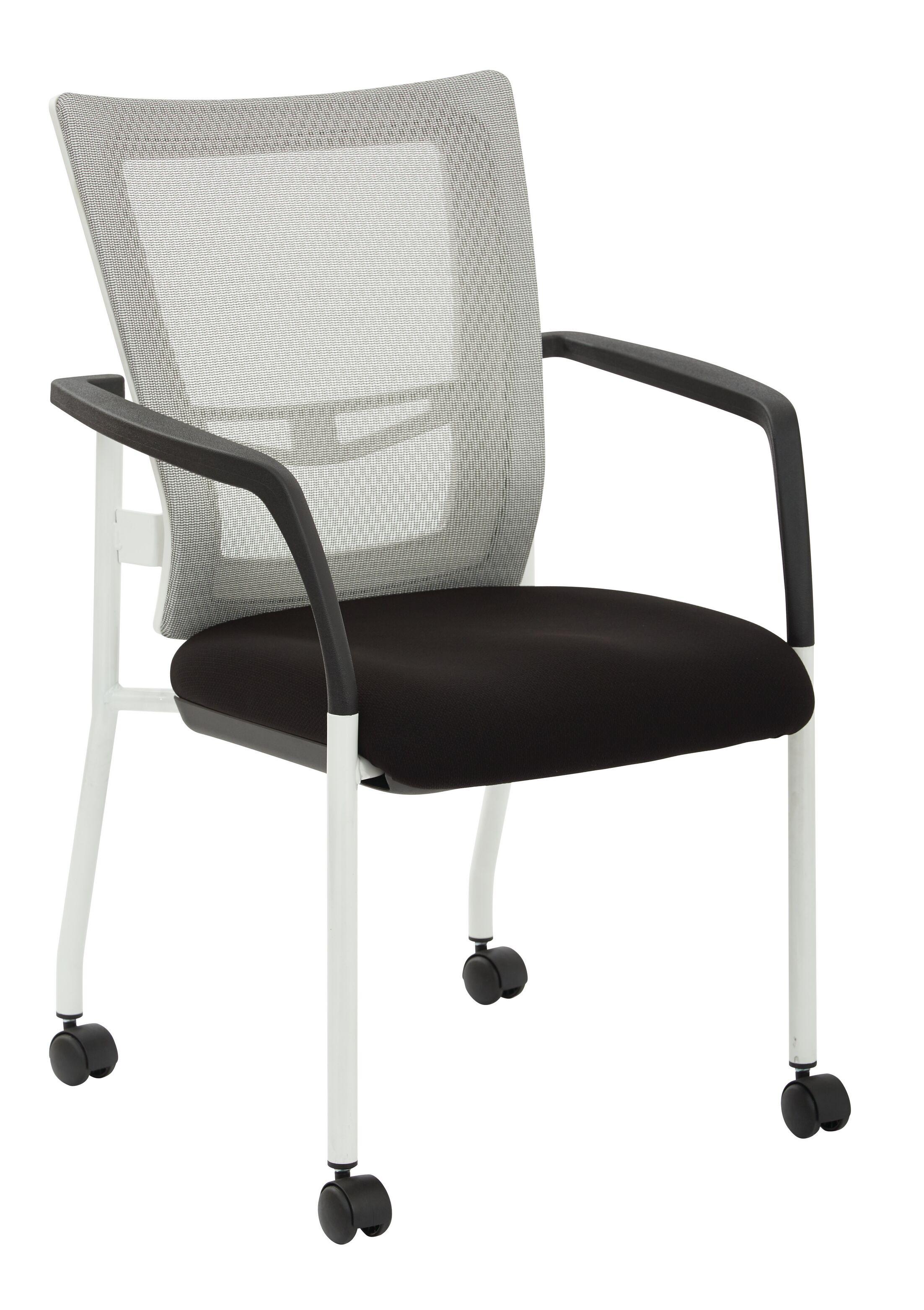 Pierro Fabric Guest Chair Seat Color: Violet