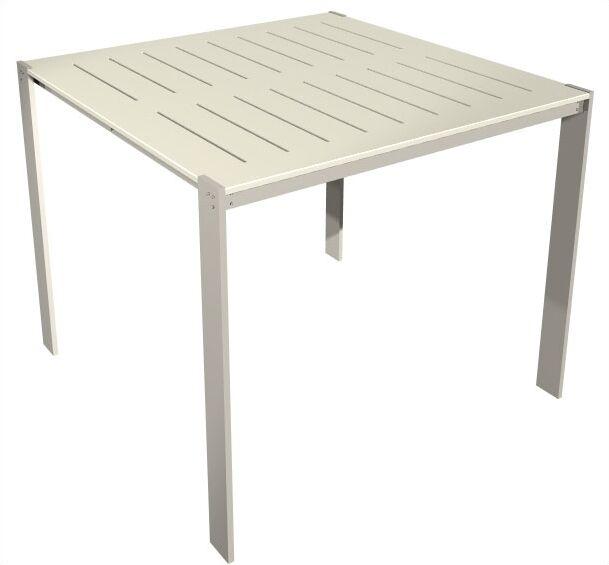Luma Aluminum Bar Table Table Size: 34