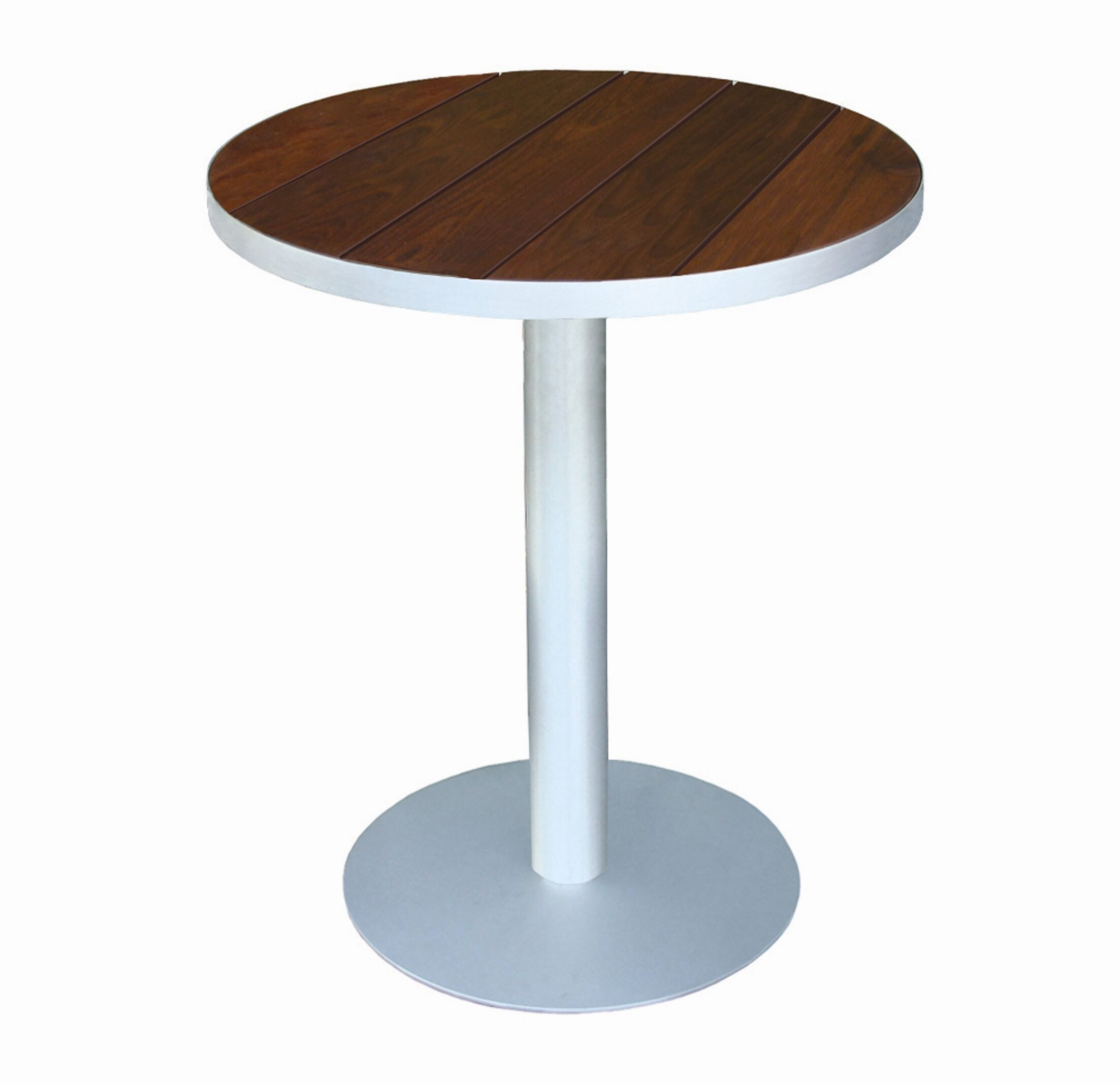 Luma Bistro Table Top Finish: Sand Shade Polyboard, Table Size: 36