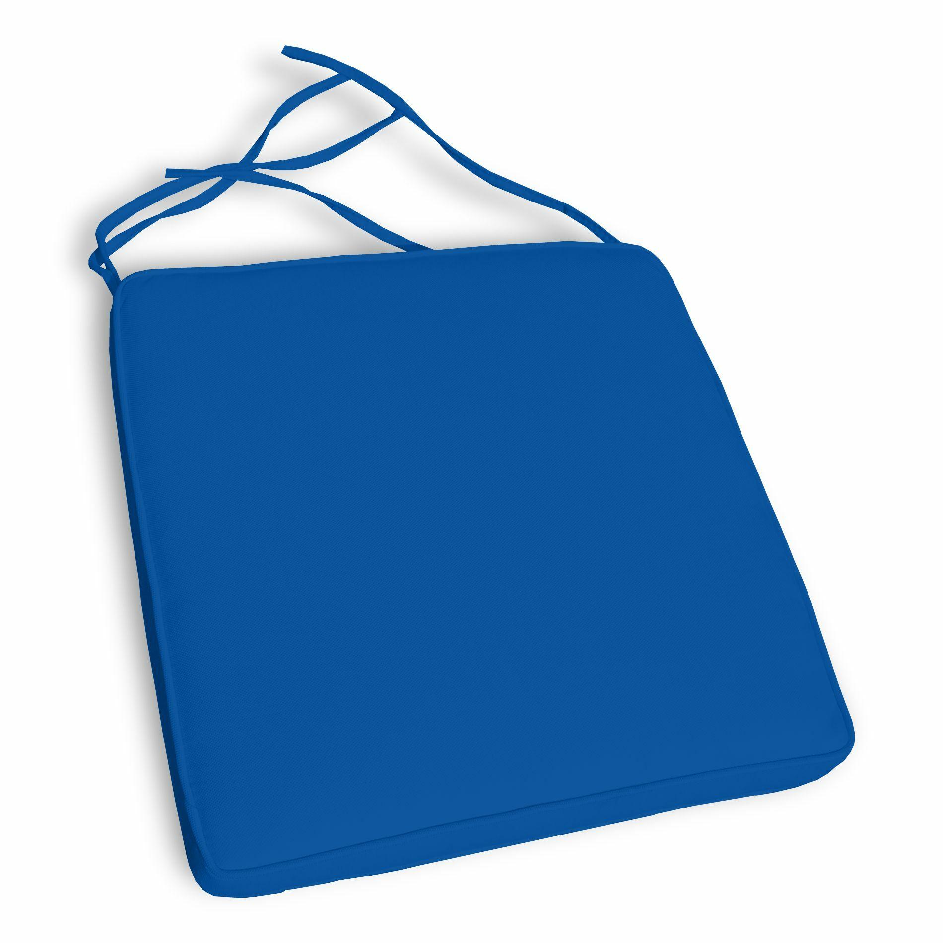 Nikoleta Indoor/Outdoor Lounge Chair Cushion Fabric: Pacific Blue