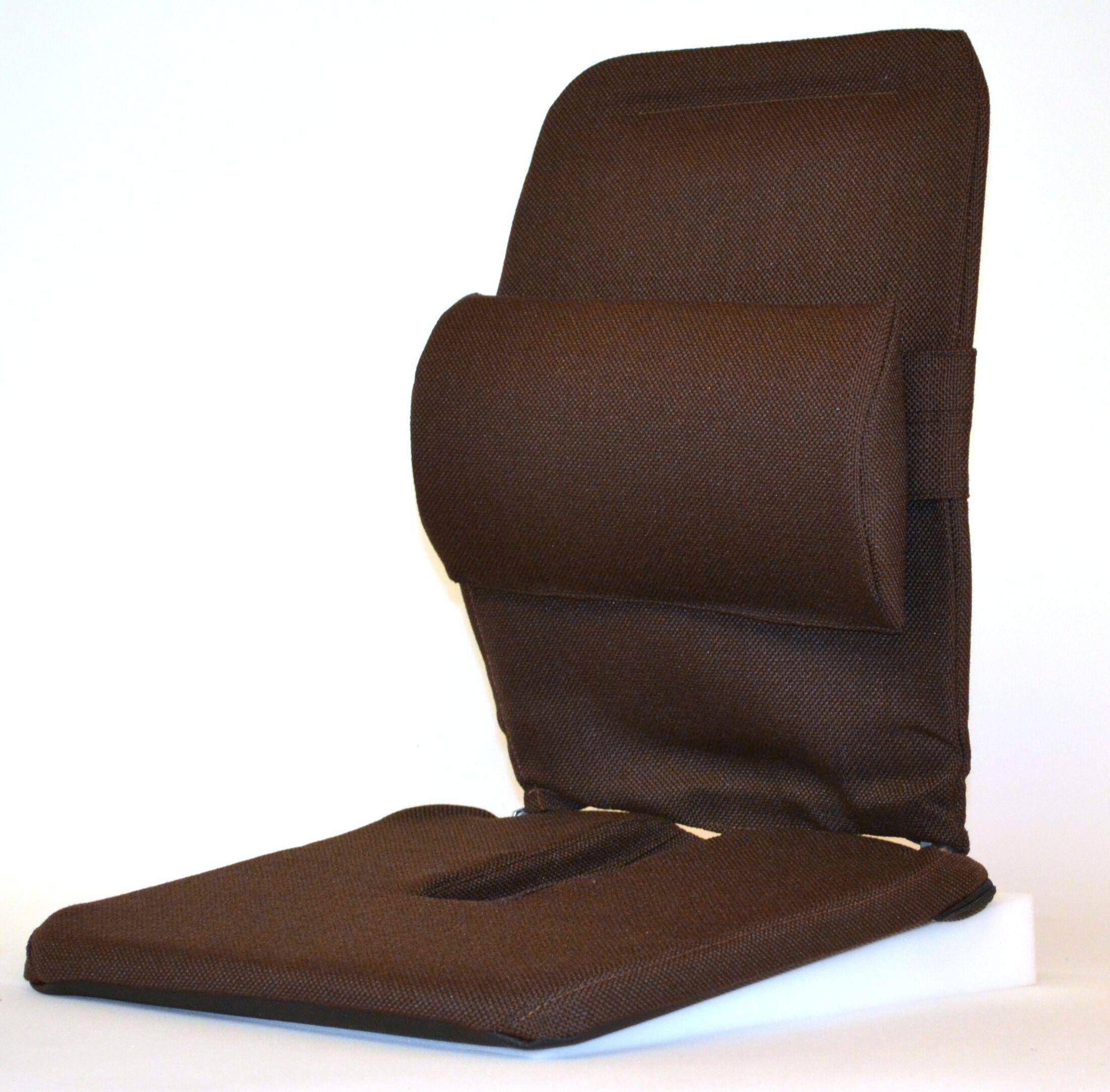 Bucket Seat Back Cushion Finish: Brown