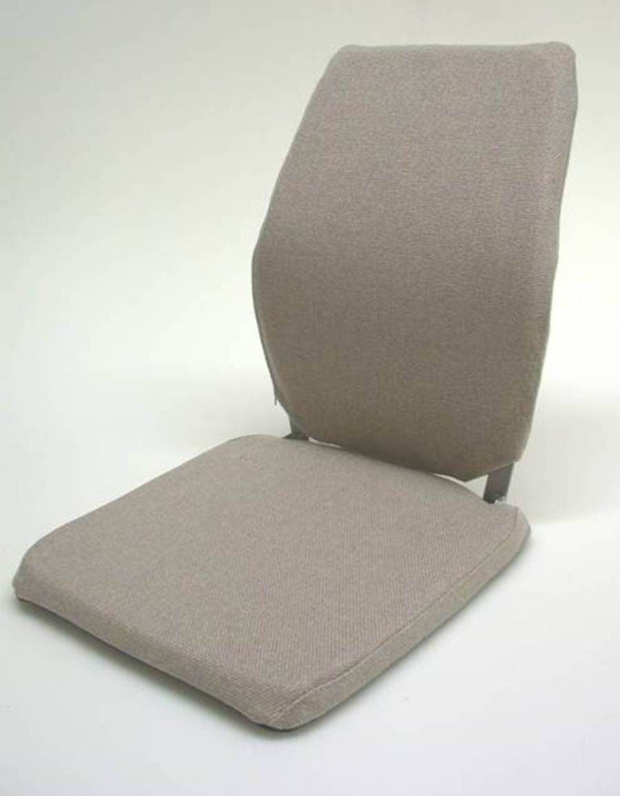 Deluxe Seat and Back Cushion Finish: Light Brown, Size: 15