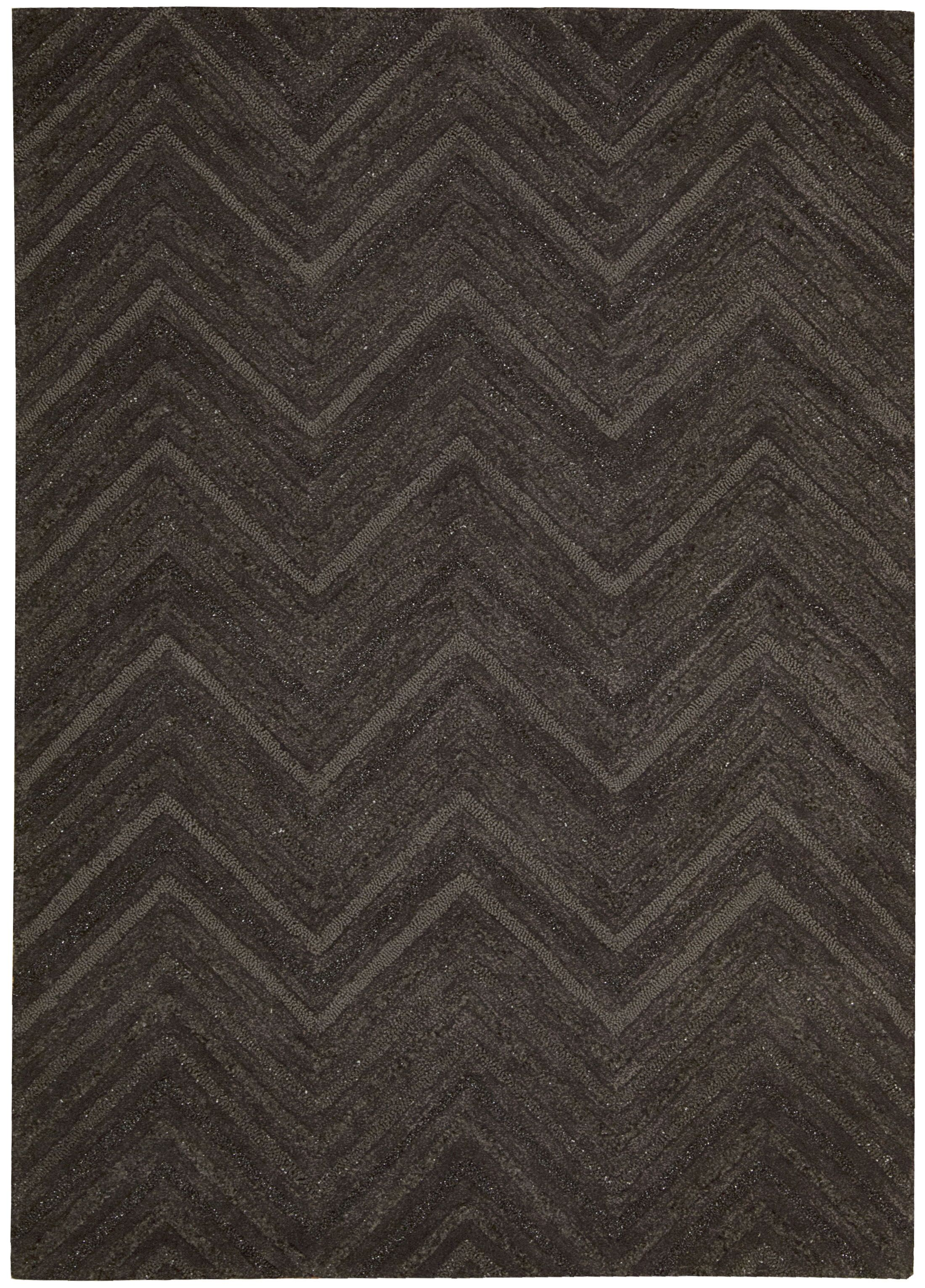 Rocco Hand-Woven Brown Area Rug Rug Size: Rectangle 4' x 6'
