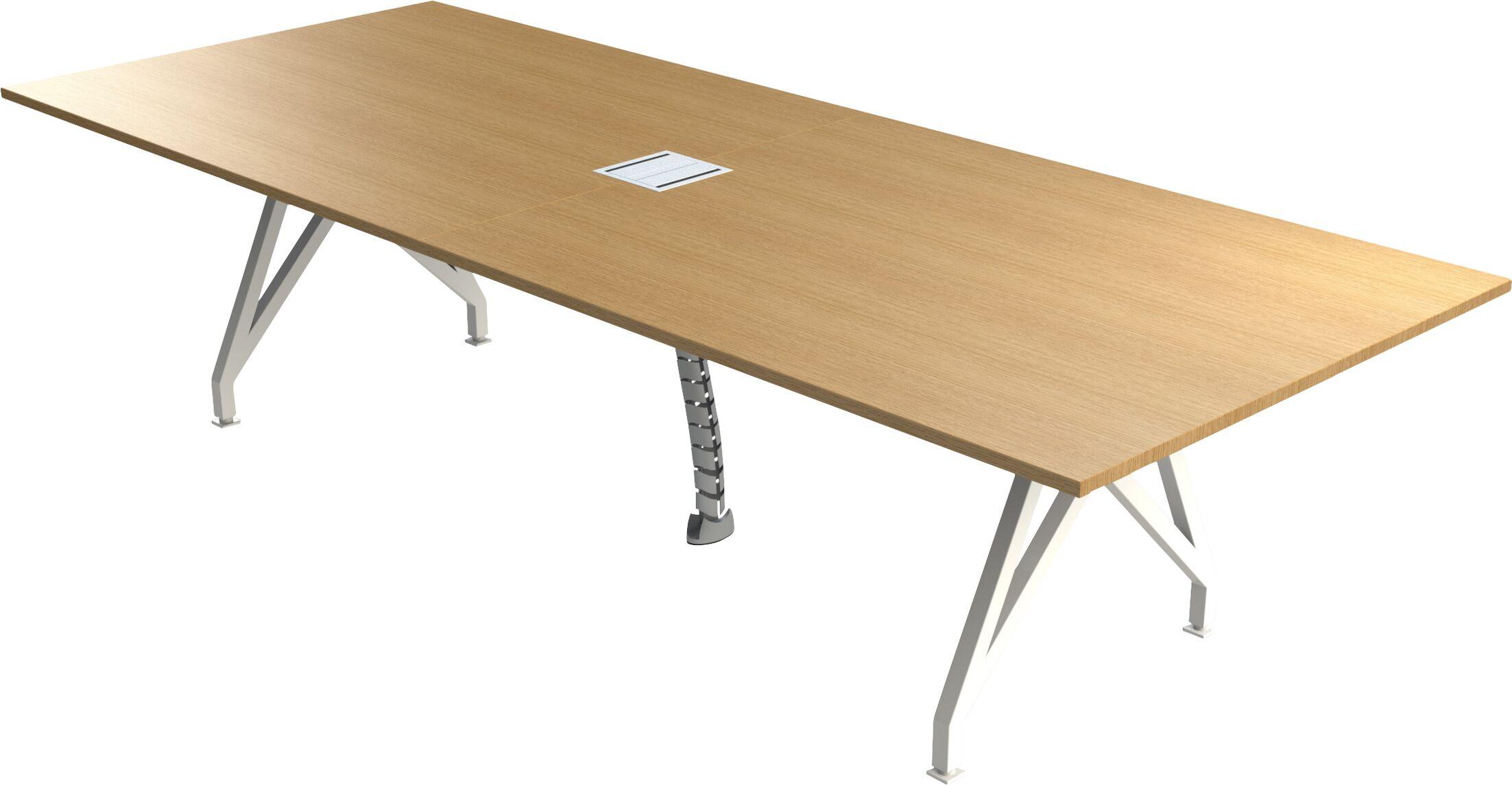 Think Tank Rectangular Conference Table Finish: Maple, Size: 29