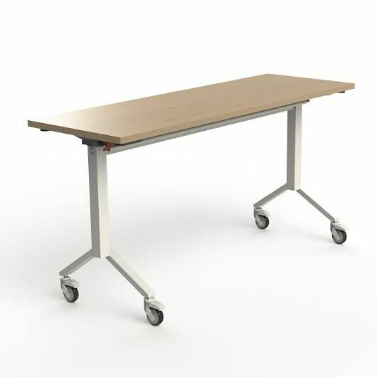 60'' W Flip Top Training Table Finish: Maple