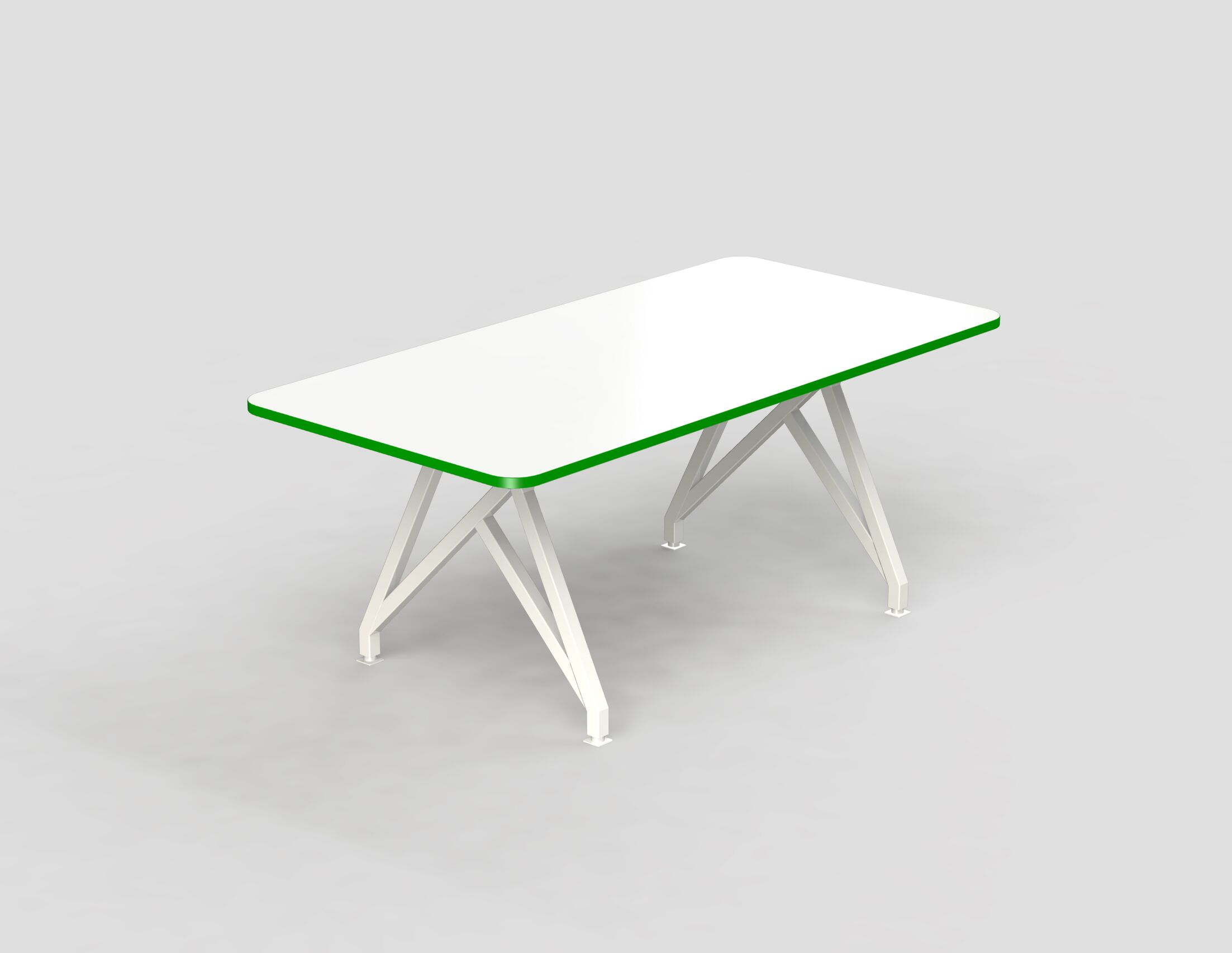 Hot Spot Rectangular Conference Table Size: 30