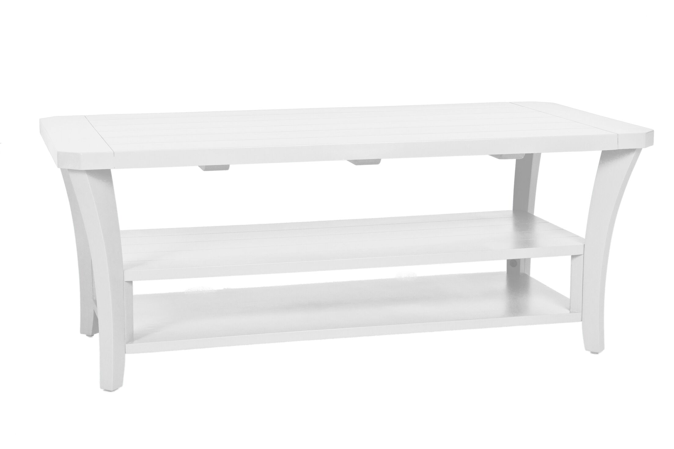 Cottage Coffee Table Color: Classic White