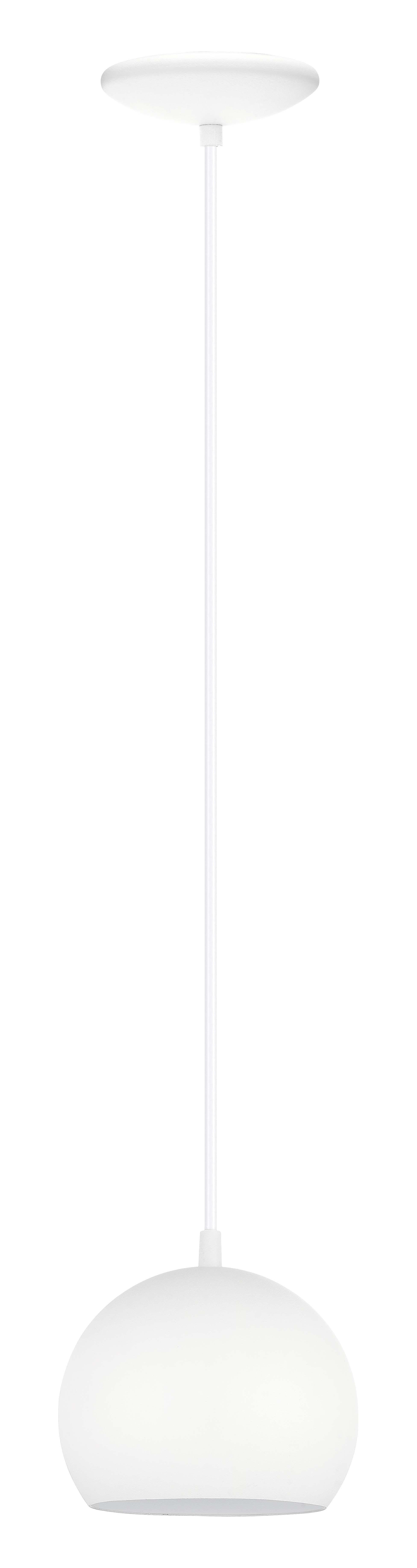 Westborough 1-Light Globe Pendant Finish: White