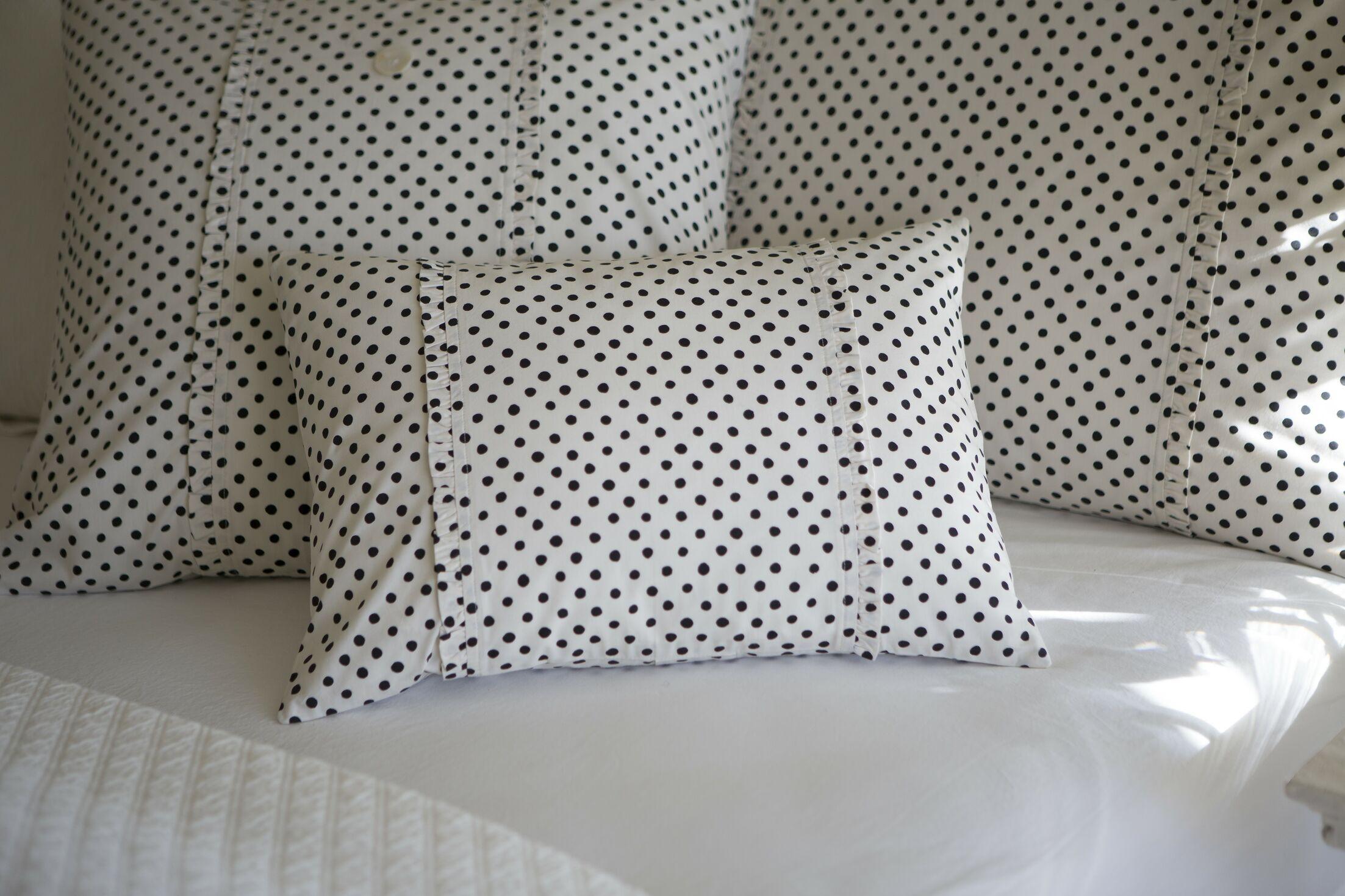 Dottie Cotton Boudoir Pillow