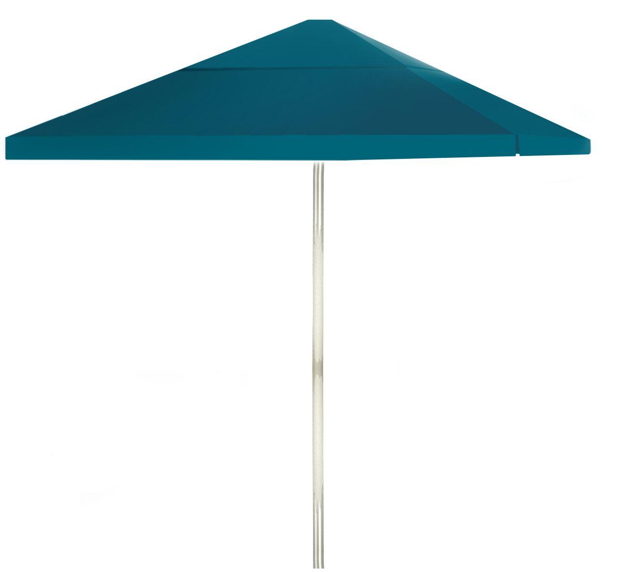 6' Square Market Umbrella Color: Sea Blue