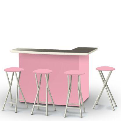 Ice Cream Parlour 7 Piece Bar Set