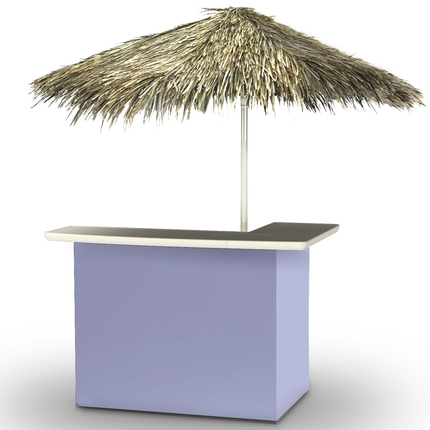 Home Tiki Bar Set Finish: Lavender
