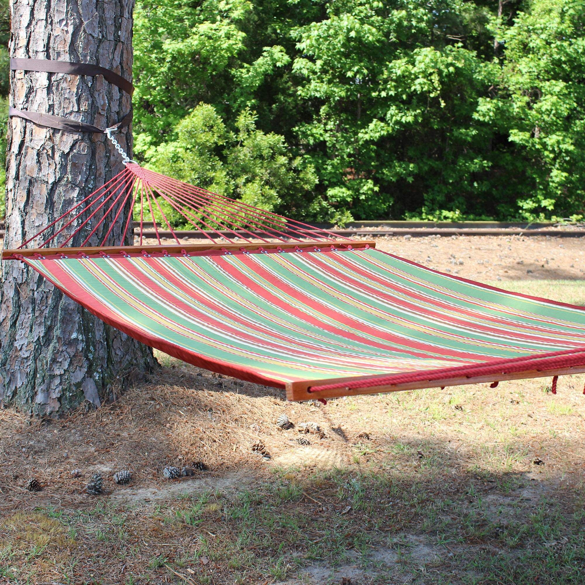 Eckhoff Quilted Polyester Tree Hammock