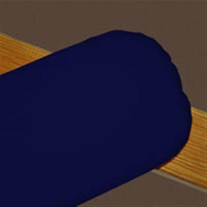 Eckles Sunbrella Boudoir/Breakfast Pillow Color: Navy