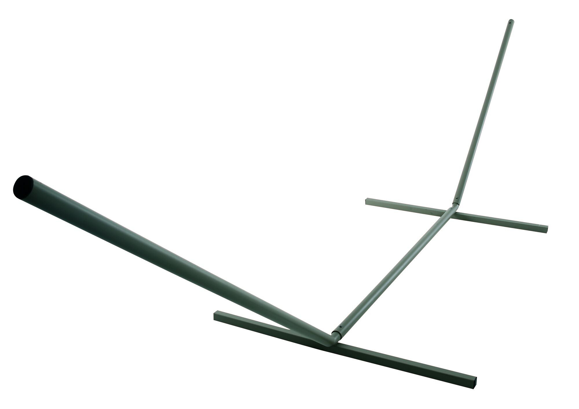 Hamby Large Steel Hammock Stand Color: Green