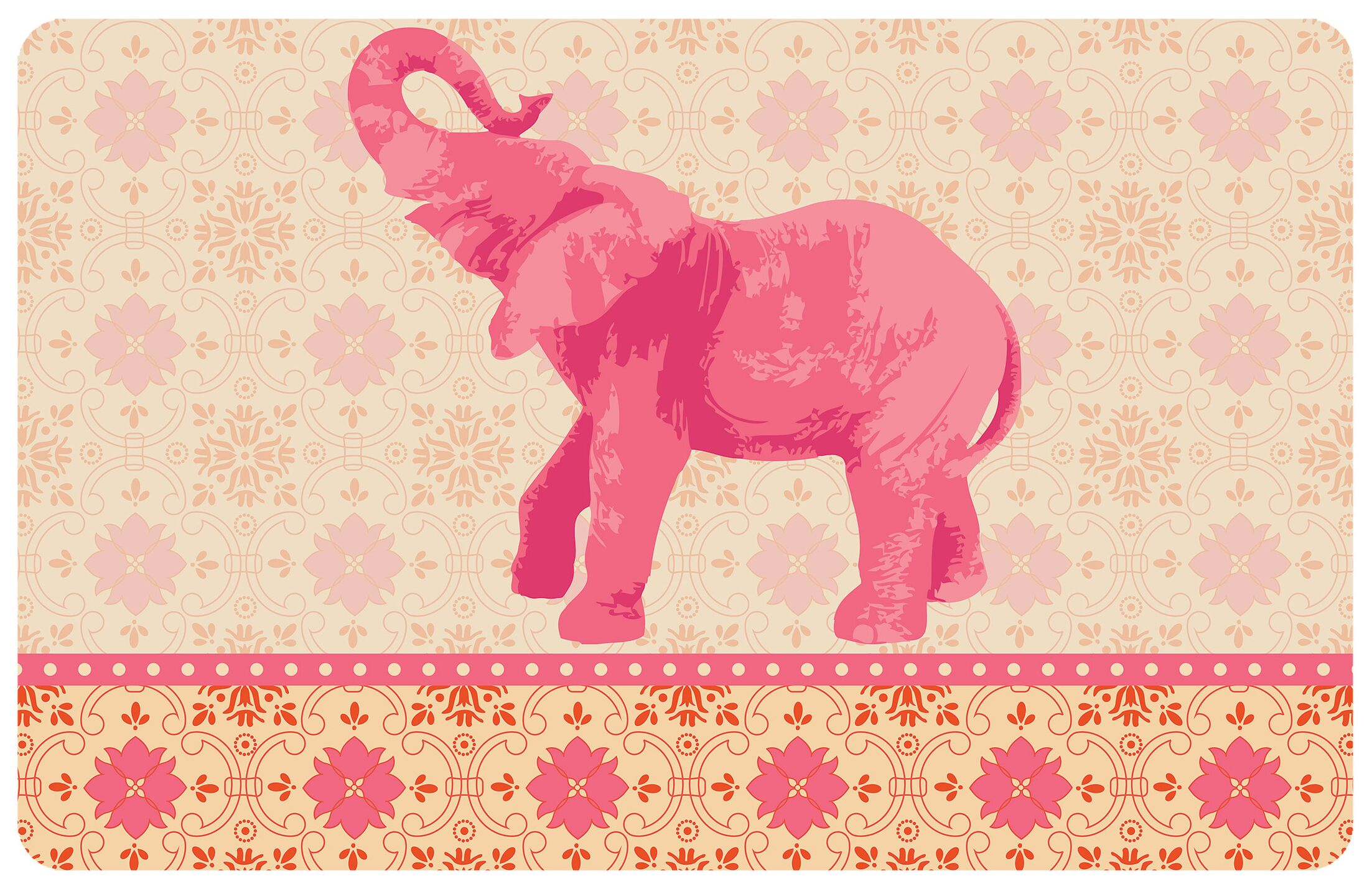 Surfaces Elephant 3 Accent Doormat