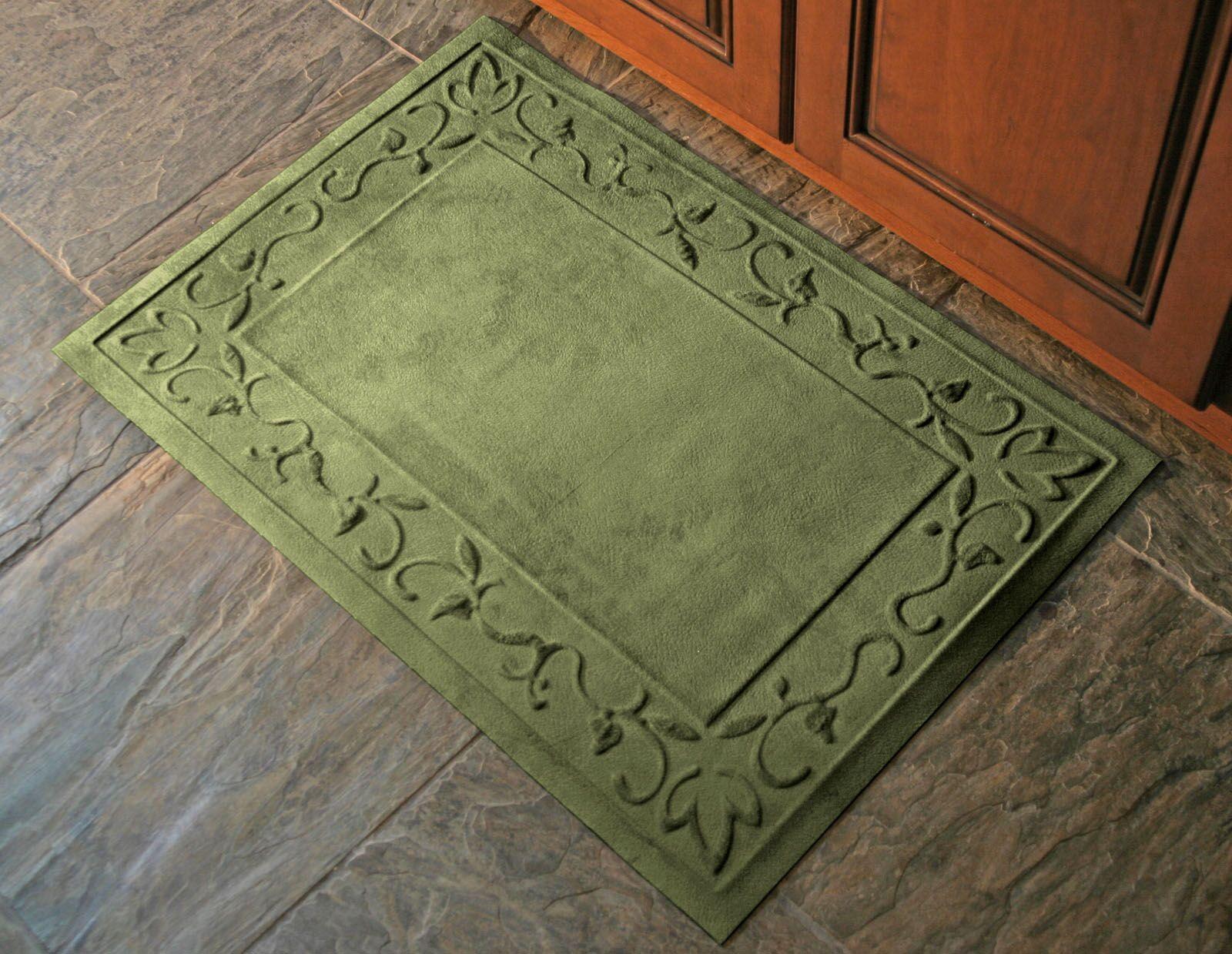 Deidre Vine Doormat Mat Size: Rectangle 34