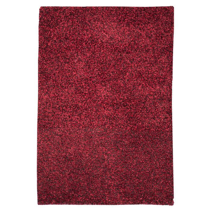 Caddigan Hand-Woven Red Area Rug Rug Size: Rectangle 3'6