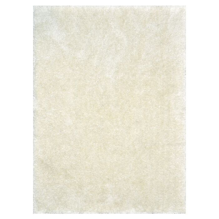 Keil Hand-Tufted Ivory Area Rug Rug Size: Rectangle 5' x 7'6